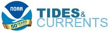 NOAA Tides and Currents logo